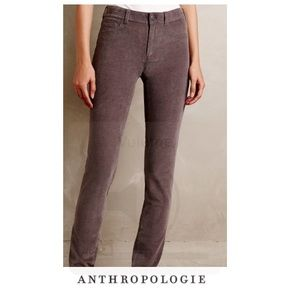 Anthropologie Pilcro Gray Stet Cords